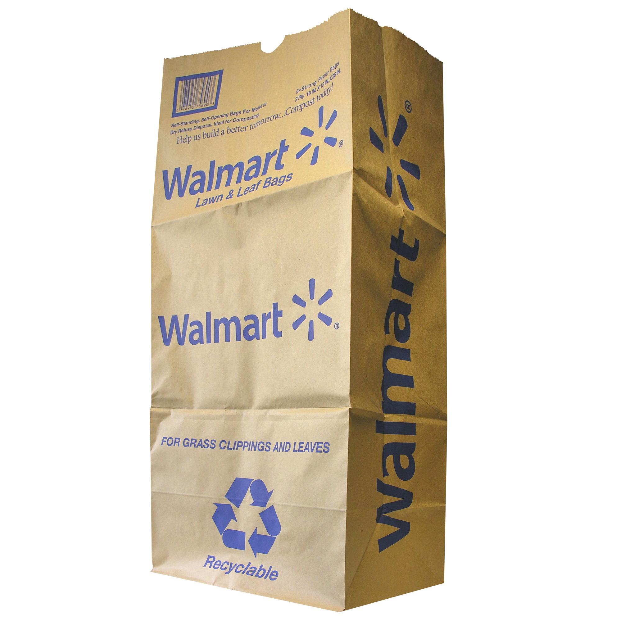Image of Ajm Packaging 30gal Walmart Refuse Bag 5ct