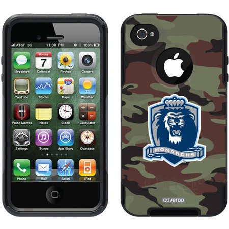 ODU Monarchs Basic Camo Design on OtterBox Commuter Series Case for Apple  iPhone 4/4s