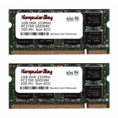 Komputerbay 2GB (1GBx2) Ram memory for Dell Inspiron E140...