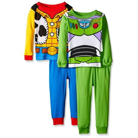 Disney Toy Story Boys 2 Cotton Sleepwear - Disney Fairies Pajamas