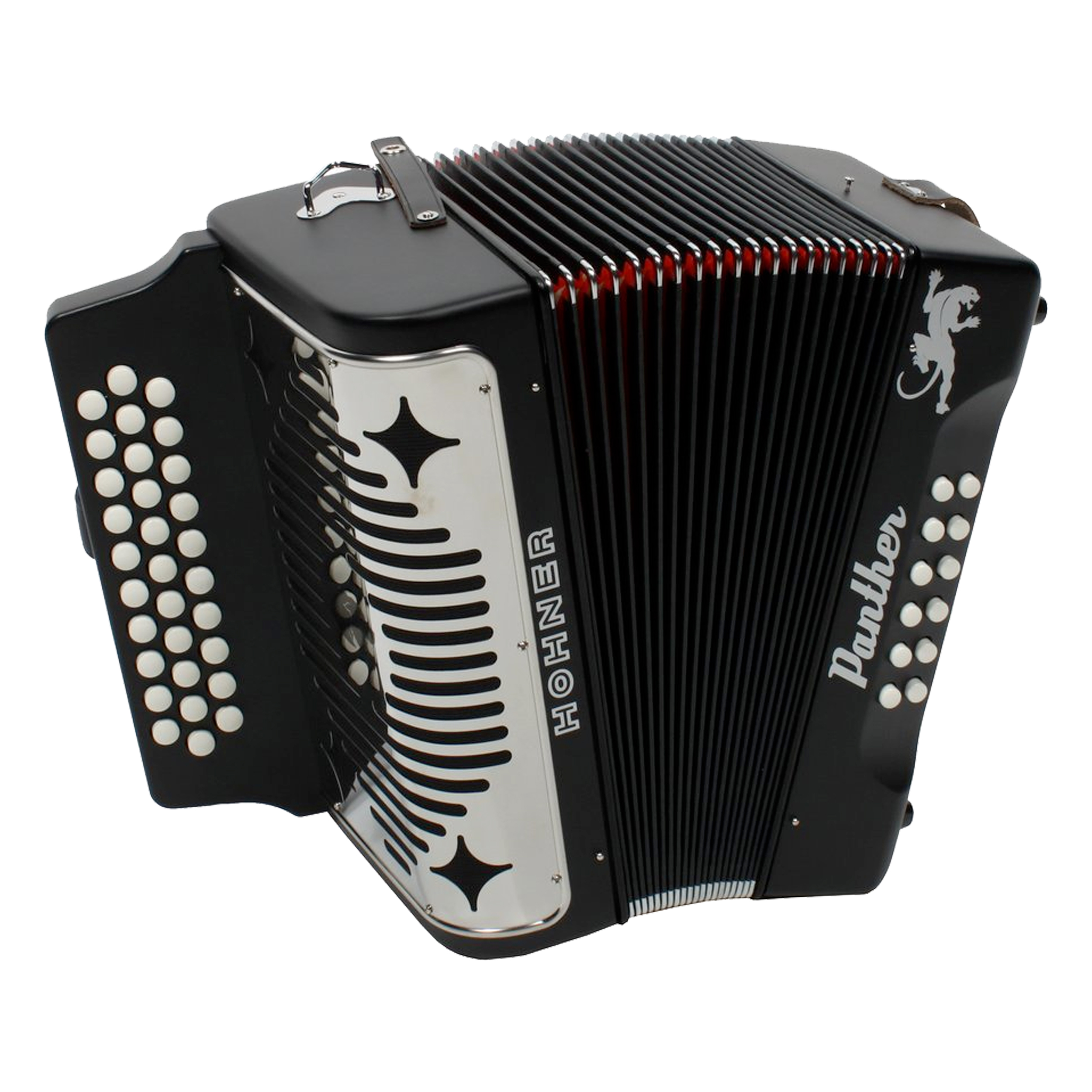 Hohner Panther Accordion 31 Treble Keys 12 Bass