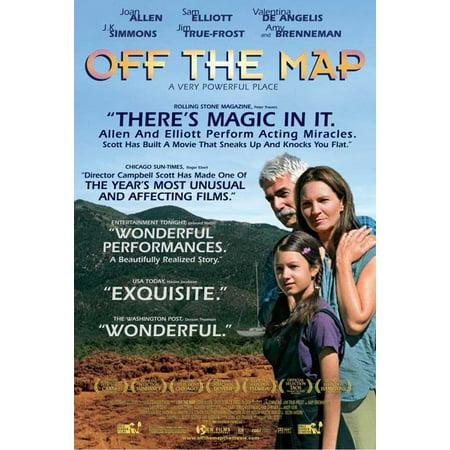 Off the Map POSTER Movie Mini Promo