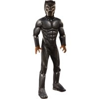 MARVEL: BLACK PANTHER MOVIE DELUXE BOYS COSTUME-4-6