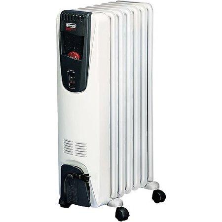 delonghi safeheat 1500w portable oil filled radiator with. Black Bedroom Furniture Sets. Home Design Ideas