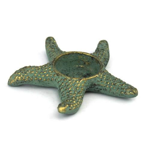 Handcrafted Nautical Decor Starfish Iron Votive