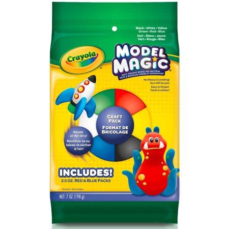 Crayola Model Magic Craft Pack  7 Oz  Assorted Colors