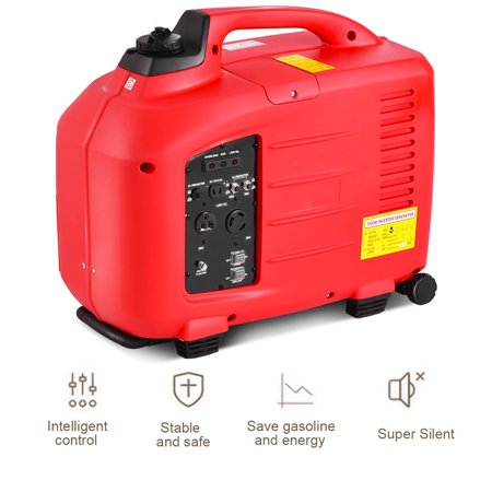 Portable 3500W 120V Digital Inverter Generator 4 Stroke 149cc Single Cylinder - image 2 of 10