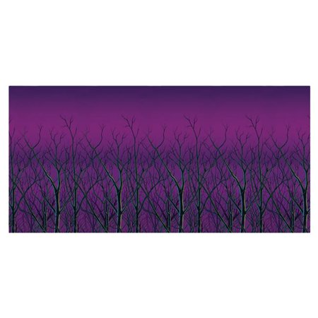 Morris Costumes BG00987 Spooky Forest Treetops Backdrop Costume - Halloween Forest Hills Ny