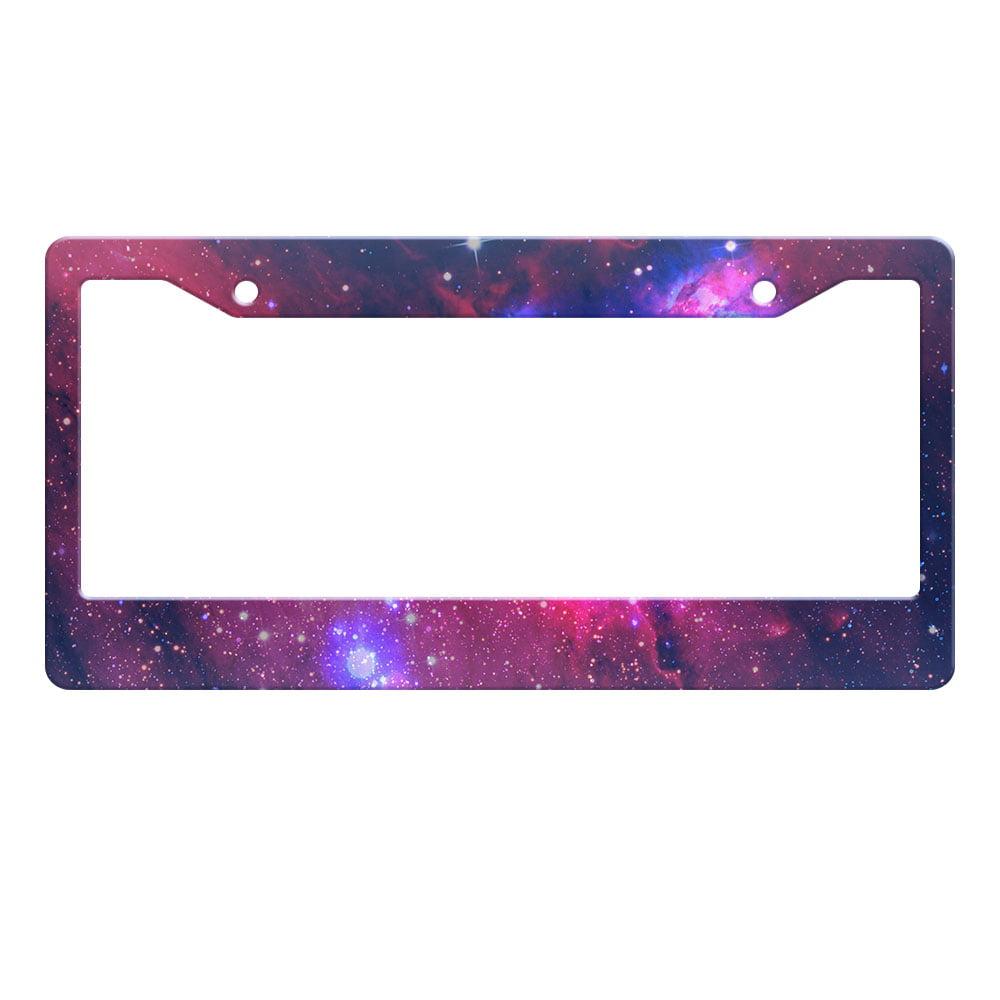 EAT SLEEP GAME Metal License Plate Frame Tag Border Two Holes