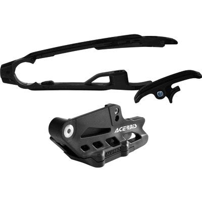 Acerbis Chain Guide and Slider Kit  Black