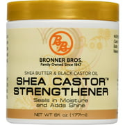 Bronner Bros Shea Castor Strengthener, 6 oz