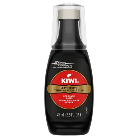 KIWI Leather Dye Black 2.5 fl oz ()