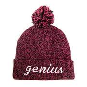 Genius Cuff Pom Knit