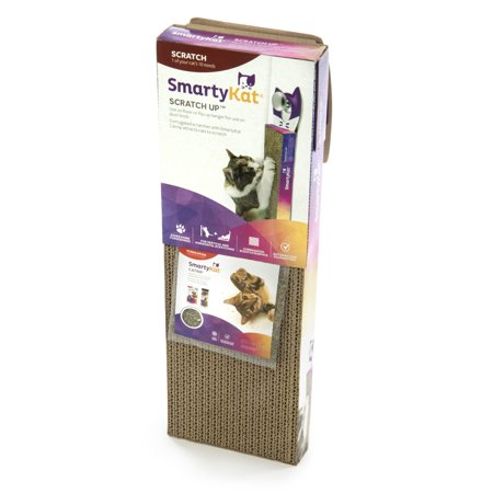 Incline Cat Scratcher (SmartyKat® Scratch Up™ Hanging Single Corrugate Cat Scratcher with Catnip )