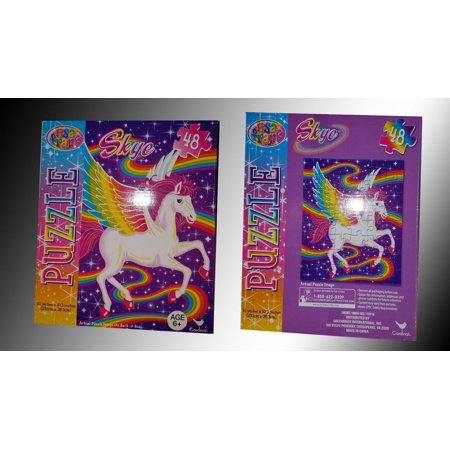 Rainbow Majesty 48 Piece Jigsaw Puzzle By Lisa Frank