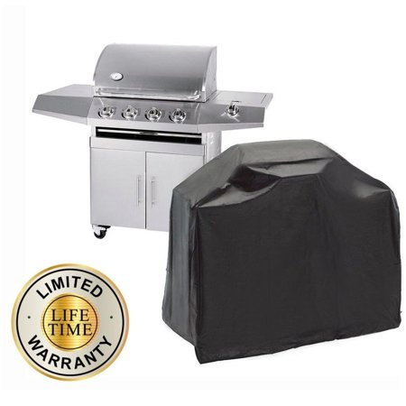 iClover Durable Thick Heavy Duty BBQ Grill Cover Waterproof Dustproof UV Protection Gas Barbeque Grill Cover (57''x24''x46'') ()