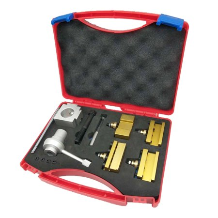 Small Size Portable Quick Change Post Holder Kit Boring Bar Turning Tool Set Holder for CNC Mini Lathe