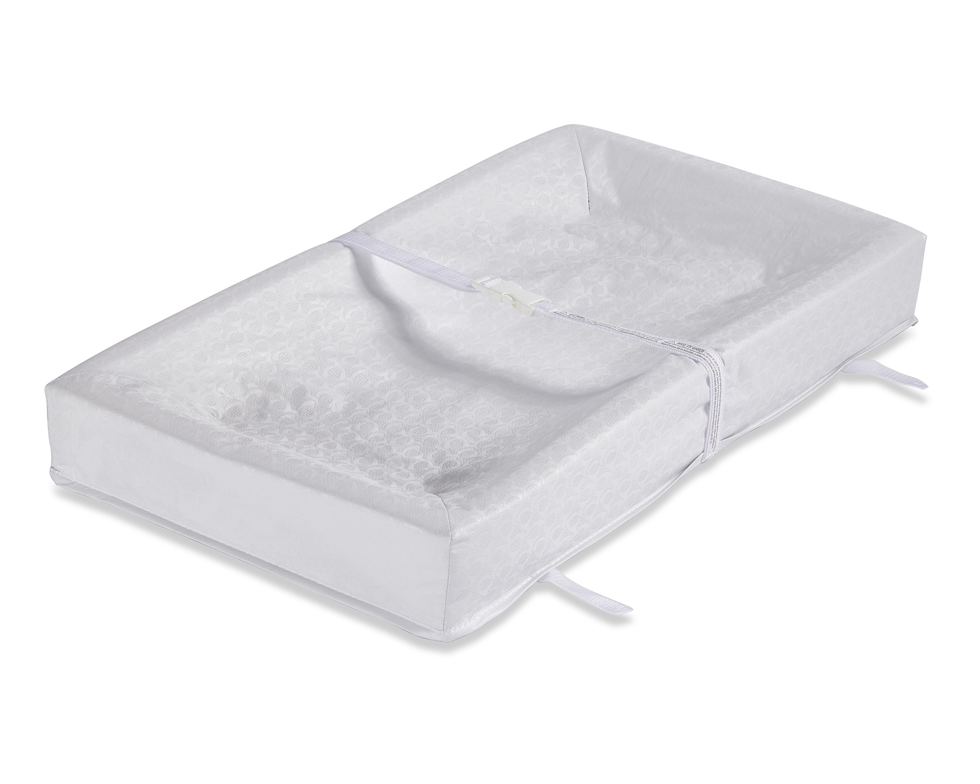 L.A. Baby 4-Sided Square-Corner Waterproof Changing Pad, Embossed by L.A. Baby