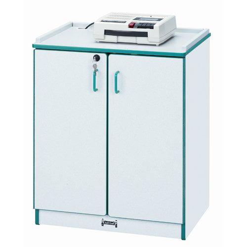 Jonti-Craft Lockable Classroom Cabinet with Doors