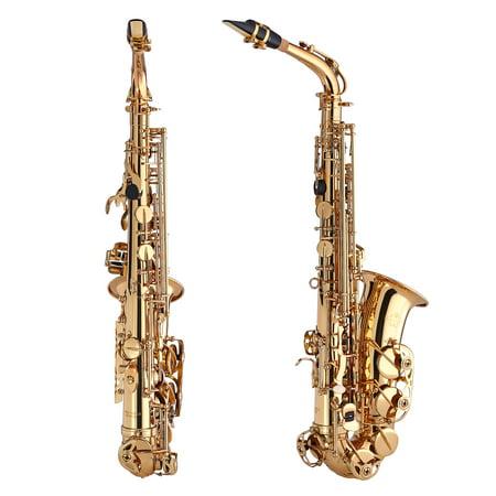Kaizer Alto Saxophone E Flat Eb Gold Lacquer ASAX-1000LQ