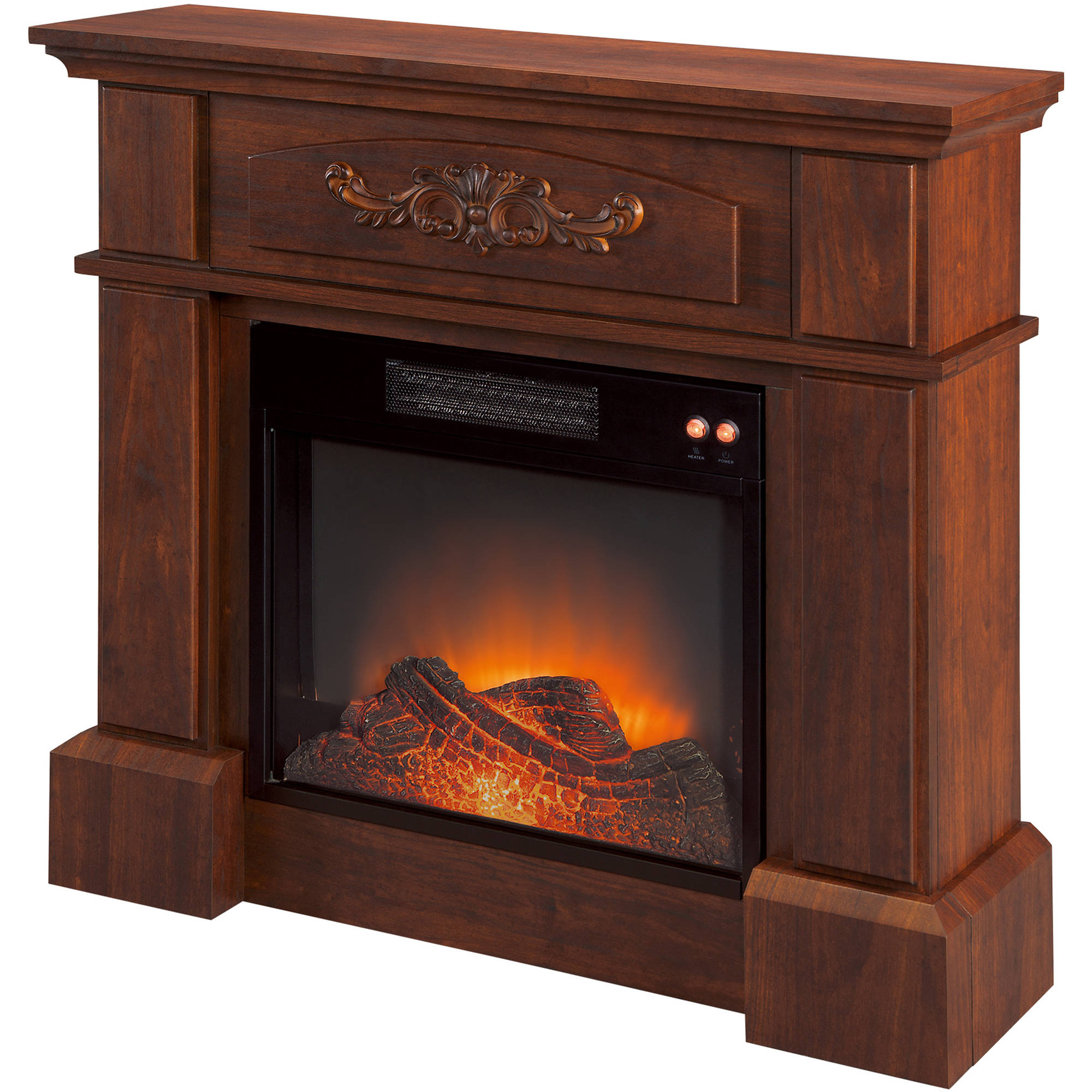 1500w hearth trends infrared electric fireplace walmart com