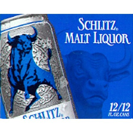 Schlitz Malt Liquor, 12 pack, 12 fl oz