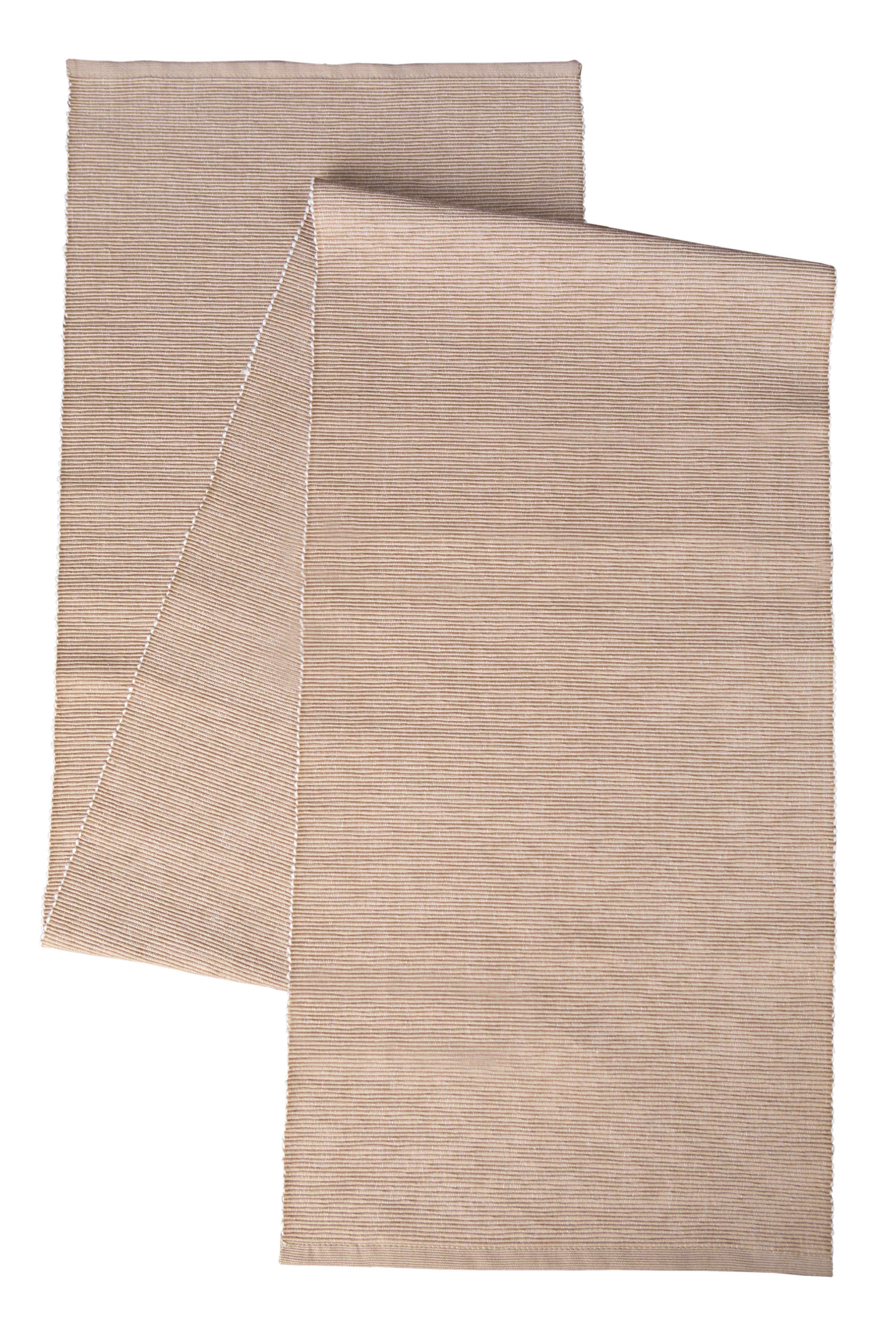 """mother/'s gift Rectangulaire crème//noir or 25/"""" x 53/"""" lace table runner nouveau"""
