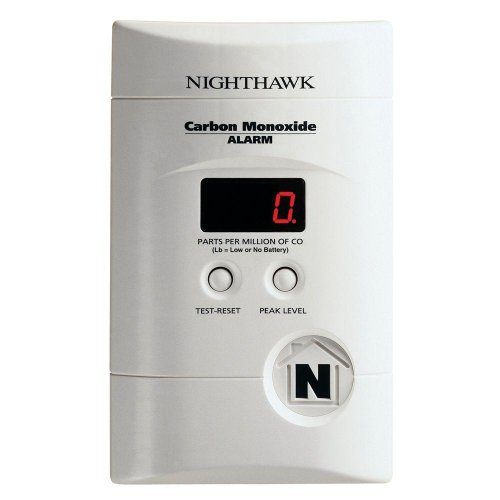 Kidde KN-COPP-3 Nighthawk Plug-In Carbon Monoxide Alarm with Battery Backup and Digital Display *2-Pack* Color: White Size: 2 Pack, Model: , Tools & Outdoor Store