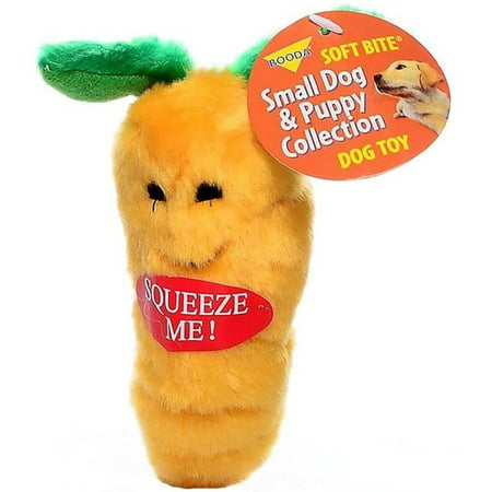 Booda Soft Bite Plush Carrot, -
