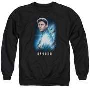 Star Trek Beyond Bones Poster Mens Crew Neck Sweatshirt