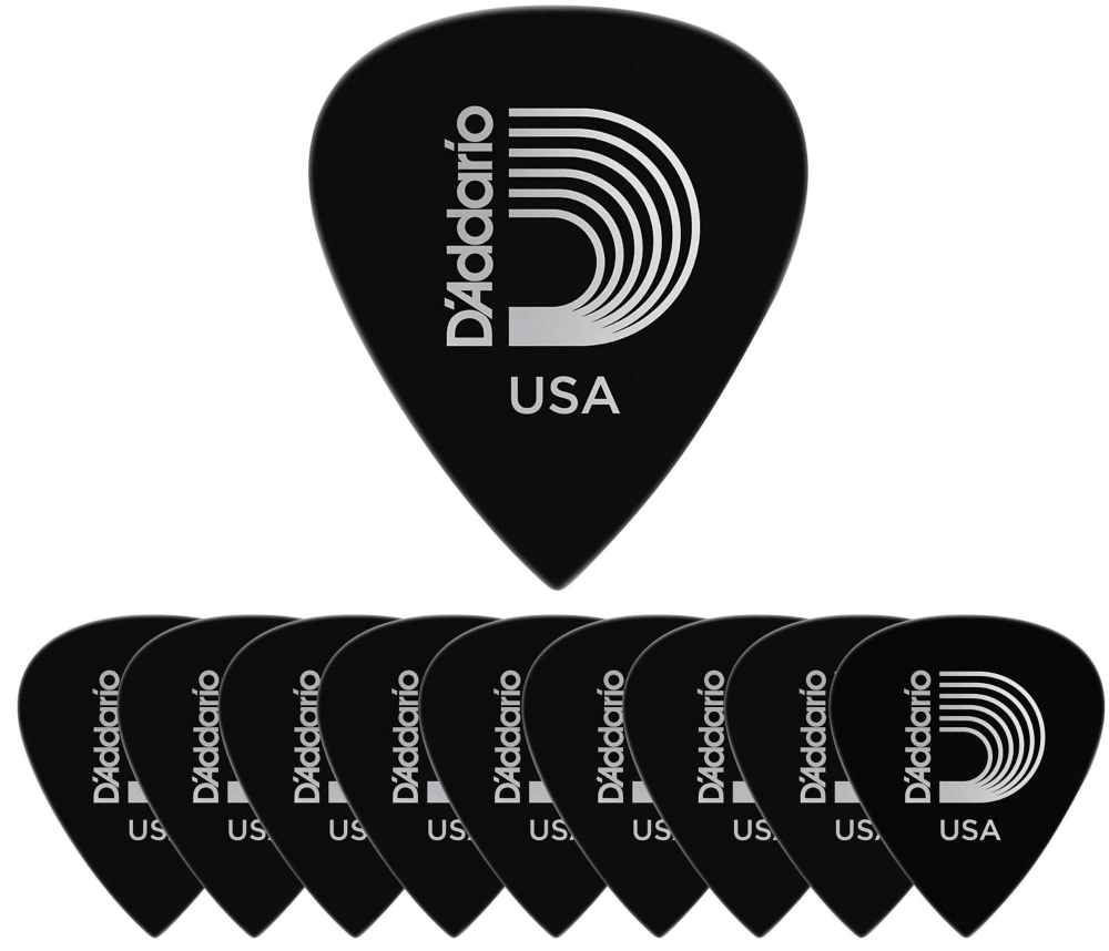 D'Addario Planet Waves Duralin Precision Extra Heavy Guitar Picks 10 Pack by D'Addario Planet Waves