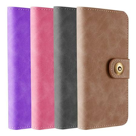 buy popular cc6b2 c22af Samsung Galaxy S9 Plus Luxury Coach Lite Series Flip Wallet