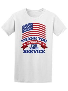 Thank You Veterans Tee Men's -Image by Shutterstock