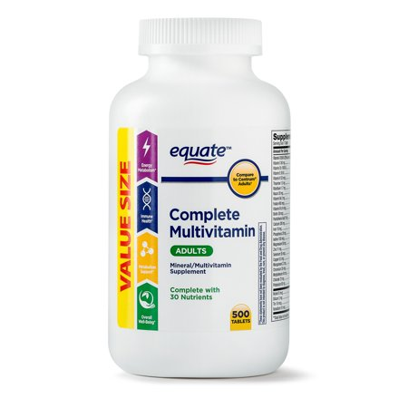 Adult Multi Vitamin - Equate Adults Complete Multi Vitamin Tablets, 500 Ct