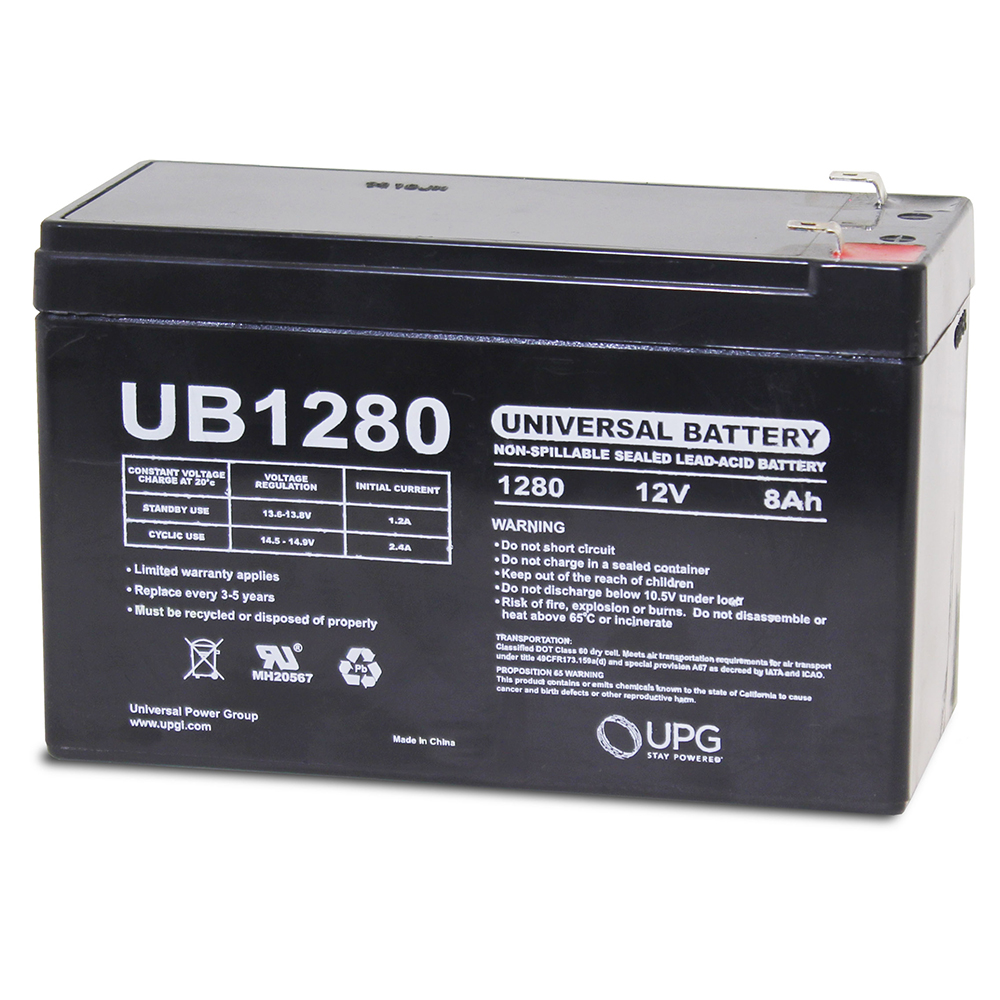 APC Back-UPS CS 350 12V 8Ah UPS Battery - This is an AJC Brand® Replacement