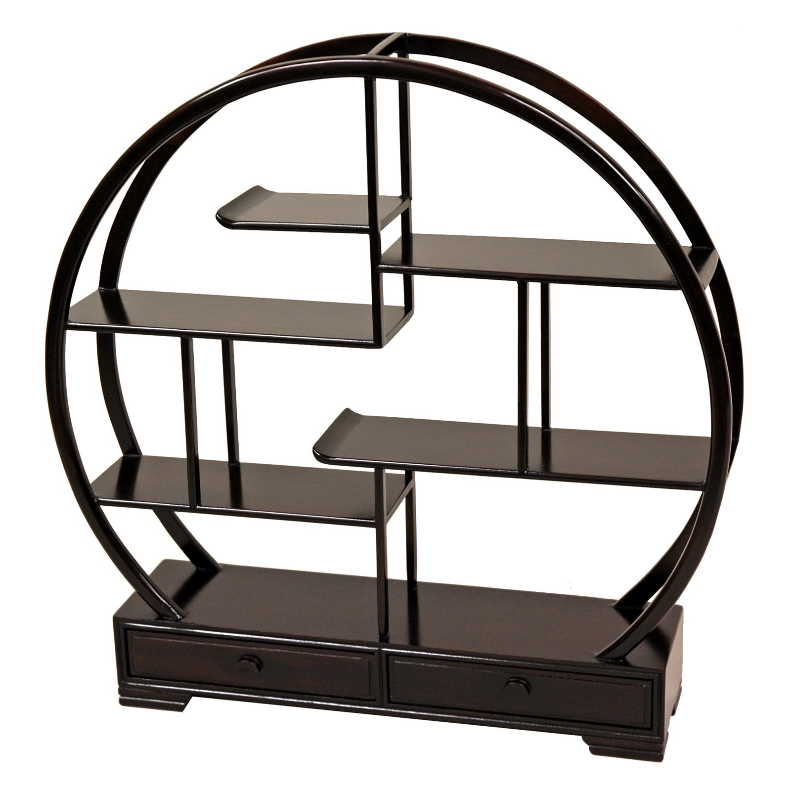 Rosewood Mingei Display Stand by Oriental Furniture