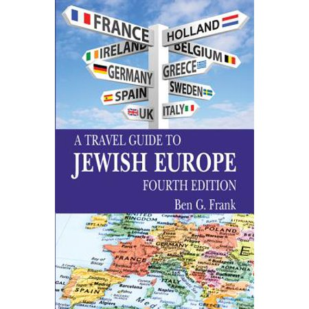 A Travel Guide to Jewish Europe - Paperback