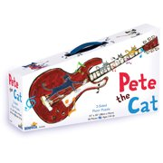 Pete the Cat 2-Sided Floor Puzzle Suitcase: 36 Pieces
