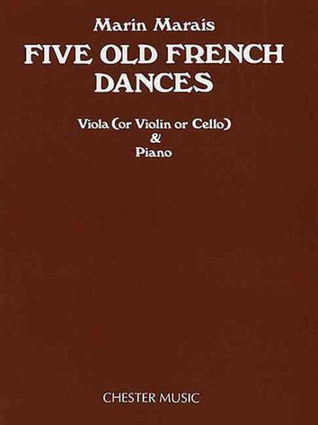 Five Old French Dances by Chester Music