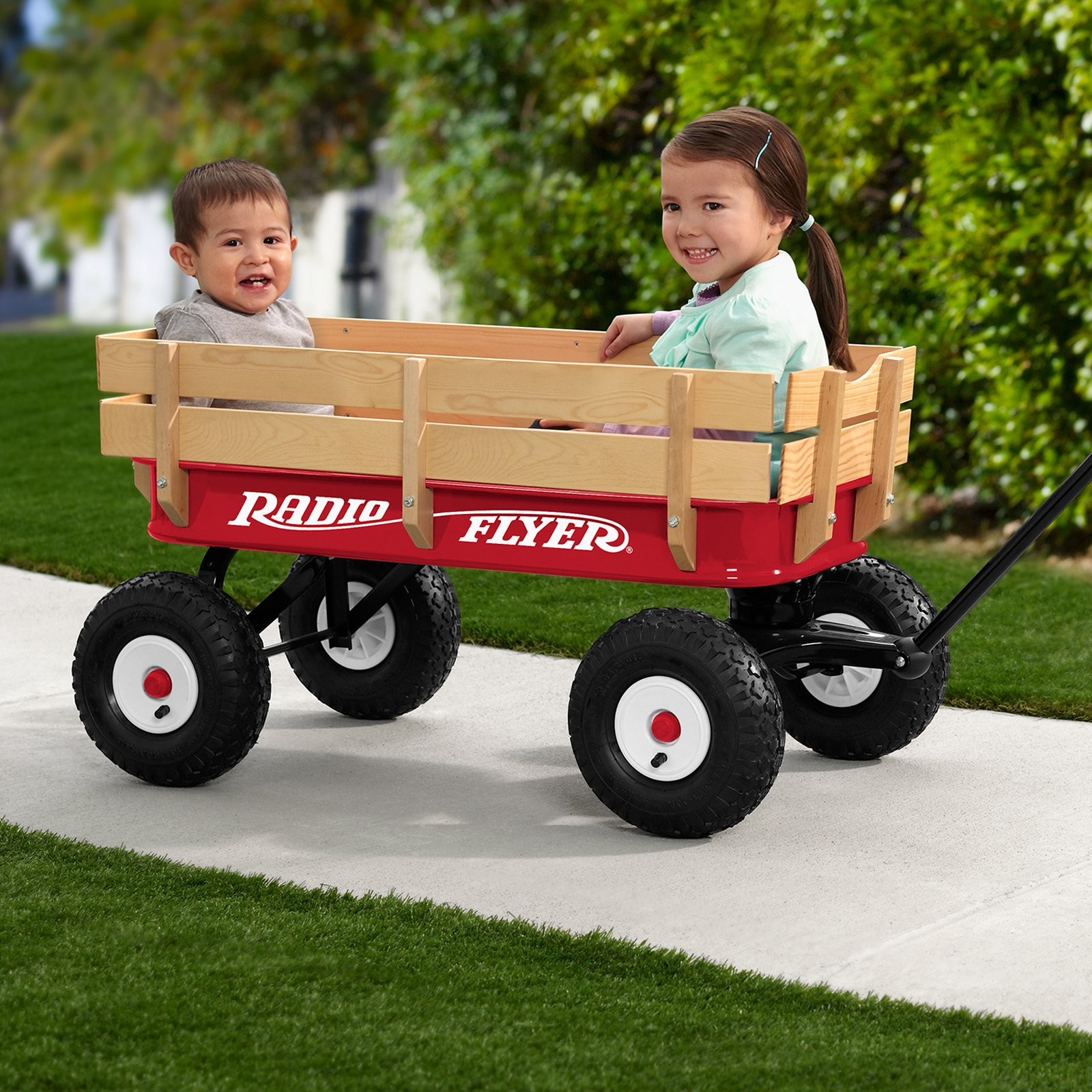 Radio Flyer All-Terrain Kids Wagon