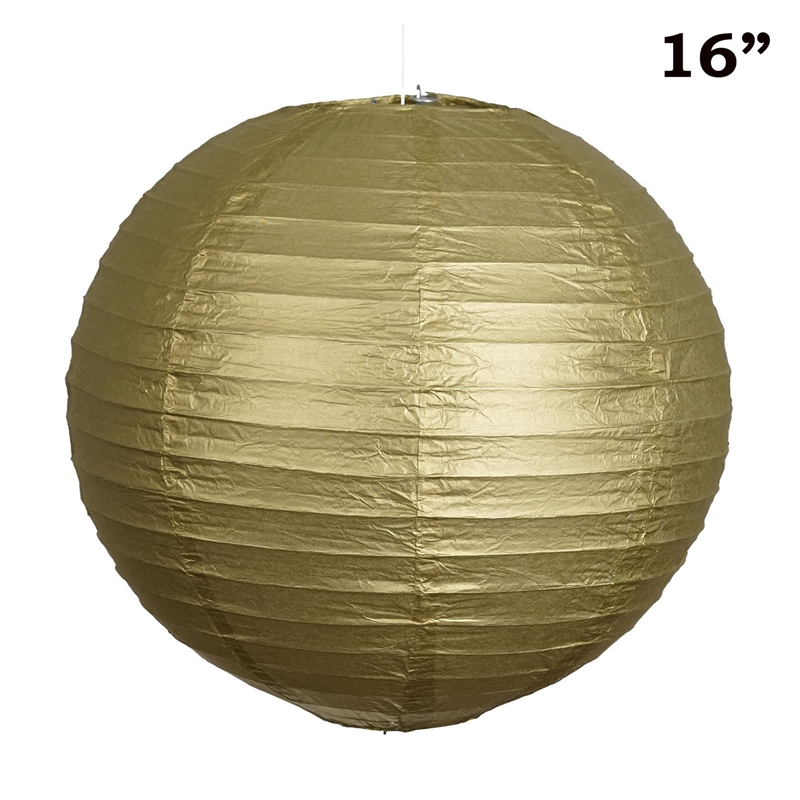 """BalsaCircle 12 pack 16"""" Paper Lanterns Lamp Shades Party Supplies - Party Wedding Event Home Room Decorations Supplies"""