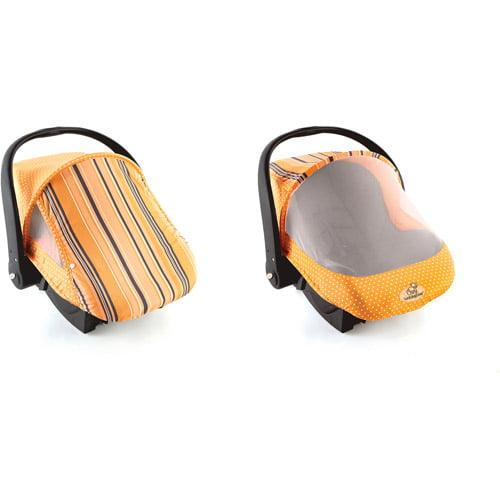 Cargador De Bebes Tapa del acogedor el sol y Bug, naranja + Cozy en Veo y Compro