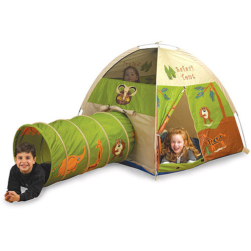 Pacific Play Tents Jungle Safari Tent and Tunnel Combo