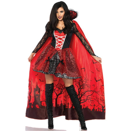 Leg Avenue Adult Vampire Temptress 2-Piece Costume](Vampire Halloween Costume Ideas For Adults)