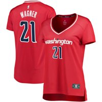 Moritz Wagner Washington Wizards Fanatics Branded Women's Fast Break Replica Player Jersey - Icon Edition - Red