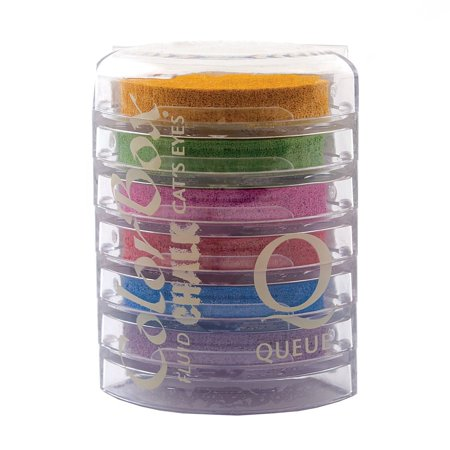 ColorBox Cat's Eye Fluid Chalk Ink Queue: Primary Elements By CLEARSNAP Ship from