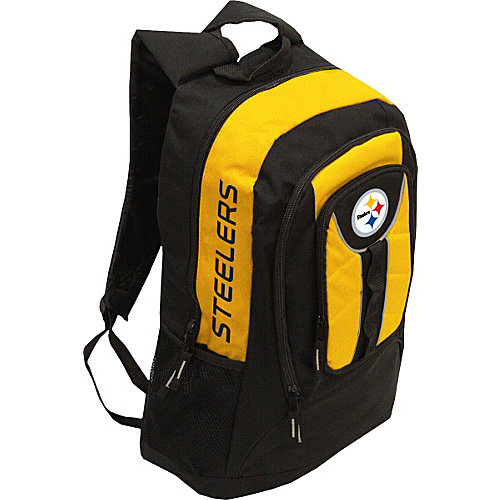 Pittsburgh Steelers Colossus Style Black Back Pack