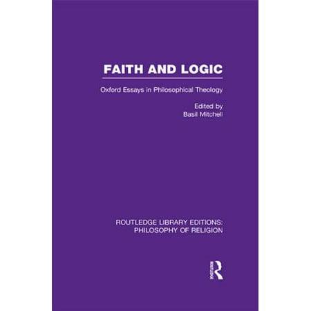 Faith and Logic - eBook ()