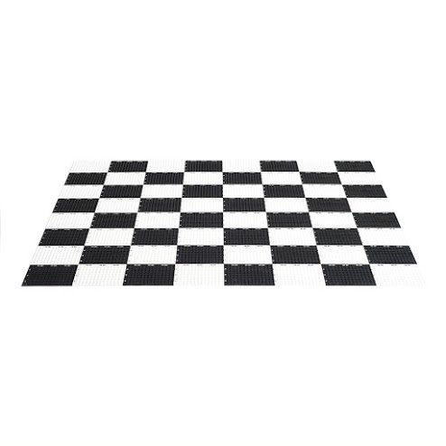 MegaChess Giant Chess Game Board Plastic Giant Size by MegaChess