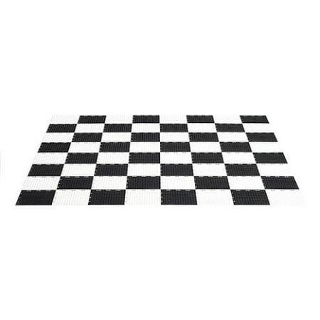 Plastic Clackers (MegaChess Garden Checkers Game Board - Plastic - Garden)